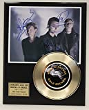 Depeche Mode Gold Record Signature Series LTD Edition Display