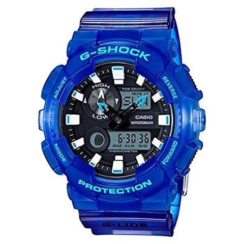 Casio G-Shock Hawaiin-Inspired Series Blue Watch GAX100MSA-2A (Blue G Shock Men)