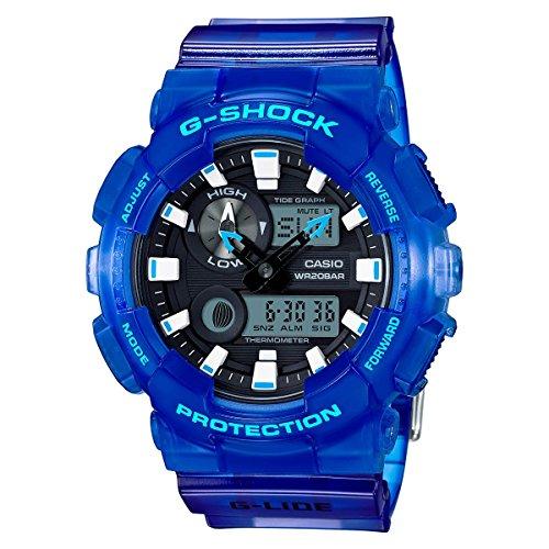 (Casio G-Shock  Men's GAX-100MSA-2 Blue Watch)