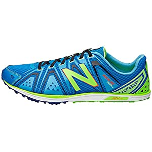 New Balance Men's MXC700 Spike Cross-Country Shoe, Yellow/Blue, 11.5 D US