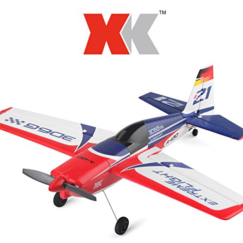 Leoie XK A430 XK A-430 Drone 2.4G 8CH 3D6G Brushless Motor Remote Control Drone RC Glider Airplane - Jet Powered Glider
