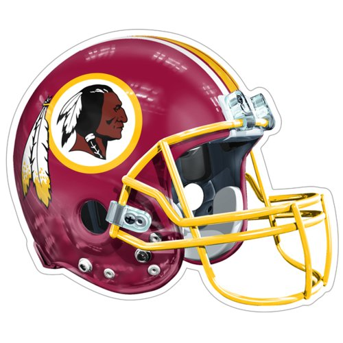 NFL Washington Redskins Logo Helmet Magnet (Pack of 1)