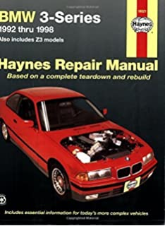 BMW 3Series, Including Z3, 9298 (Haynes Repair Manuals) 1st