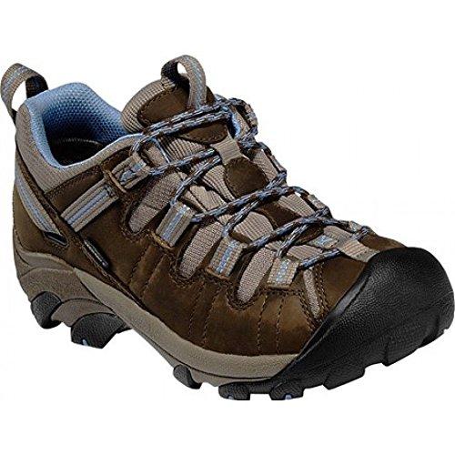 Allure Footwear (Keen Targhee II Waterproof Shoe - Women's Dark Earth/Allure 8.5)