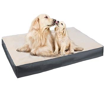E-Starain Cama para Perros Gota para Mascotas Animal del Perrito Sofa del Pieles de venado Acolchada Cómodo Gris 80 * 60 * 10cm: Amazon.es: Productos para ...