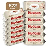 Huggies Nourish & Care Scented Baby Wipes, 12