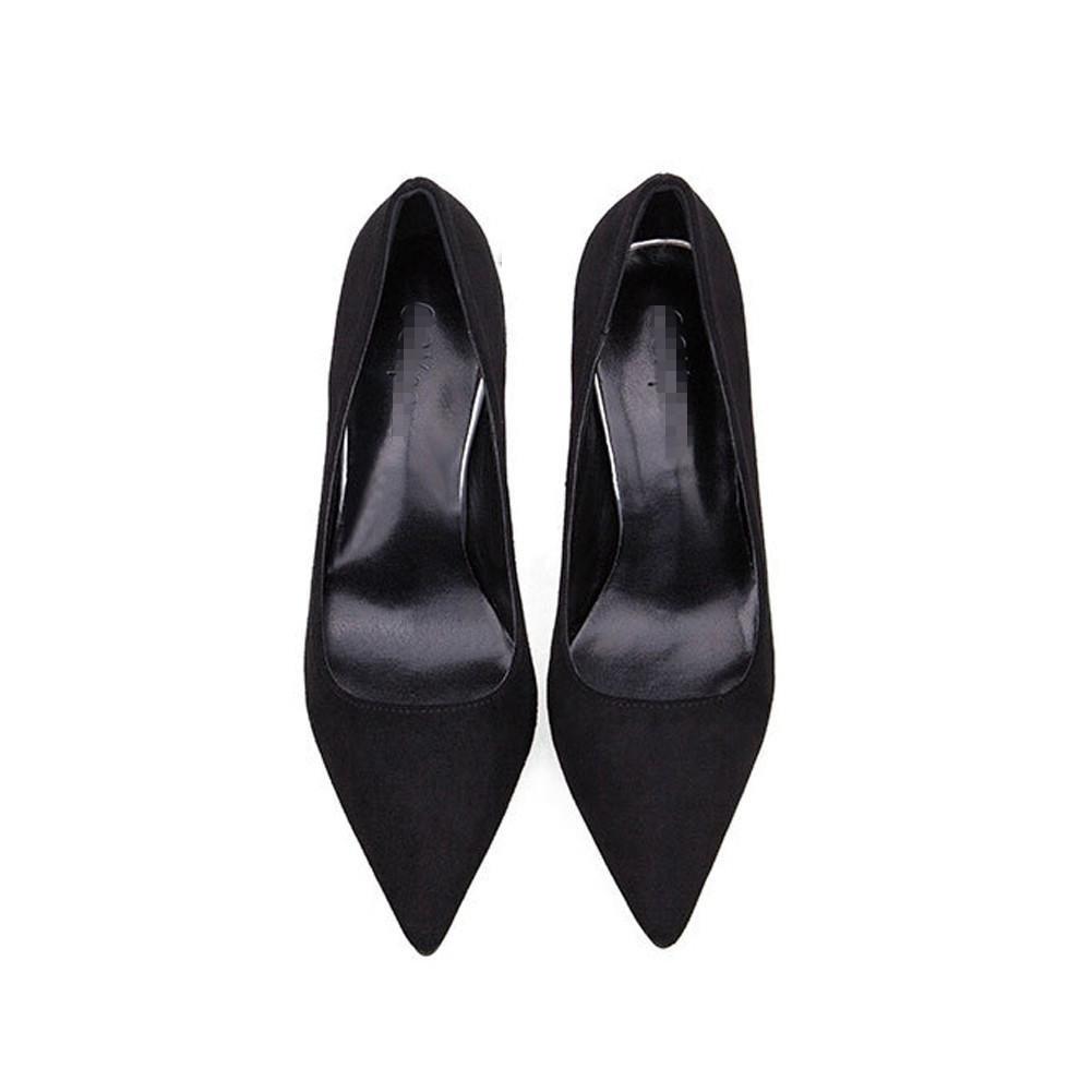 Schuhe frauen high high high heels wildleder geschlossene zehe pumps hochzeit bühne party arbeit nachtclub casual sandalen 15c51c