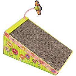 Fat Cat Big Mama's Scratch 'n Play Ramp for Cats with Catnip