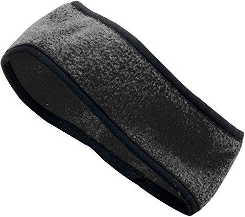 Augusta Chill Fleece - Augusta Sportswear ADULT CHILL FLEECE SPORT HEADBAND OS Black
