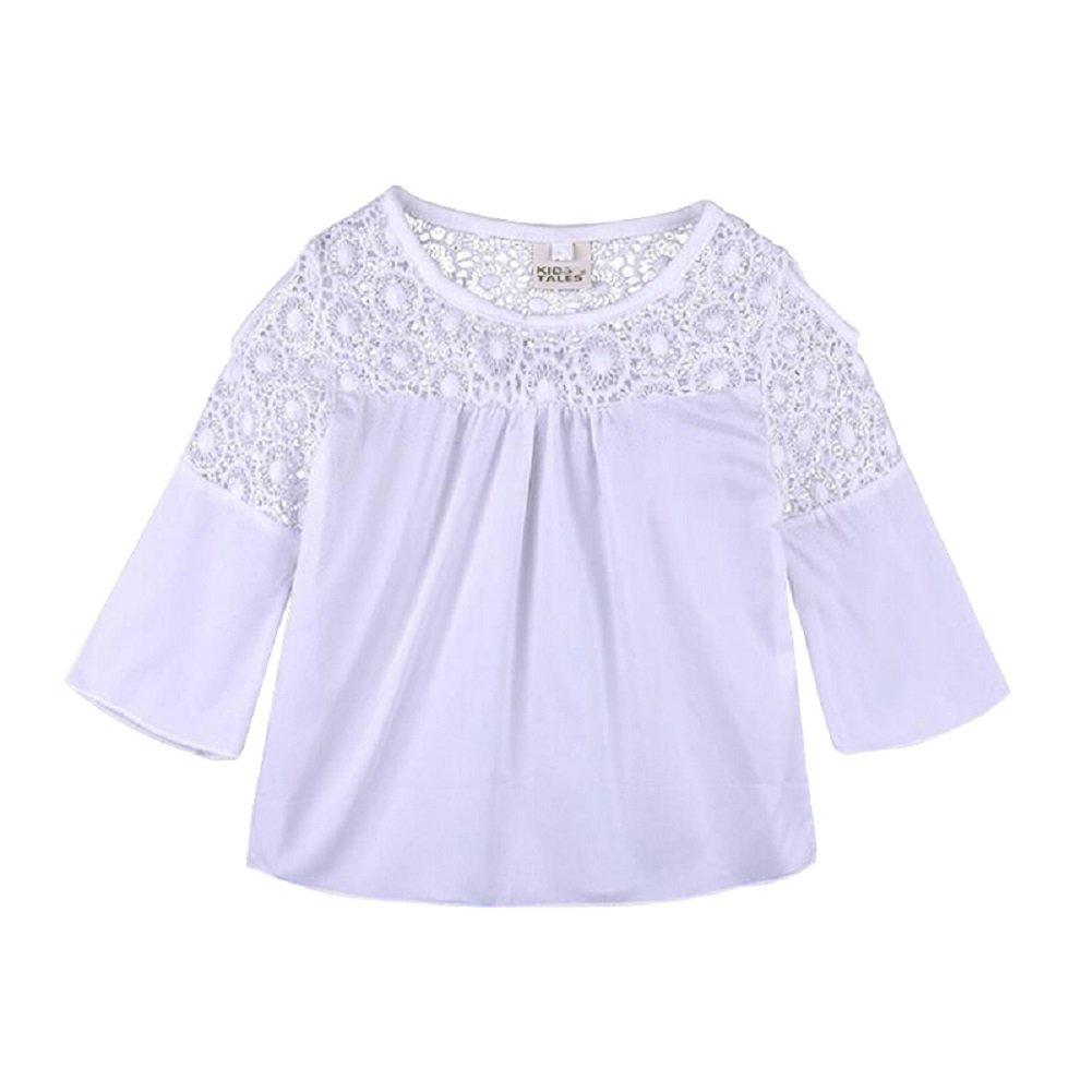Pants Sets 2 Pcs Outfits 2-8 Years Yilaku Winter Adorable Cute Girls Clothing Set Long Sleeve Cotton Dress Shirts