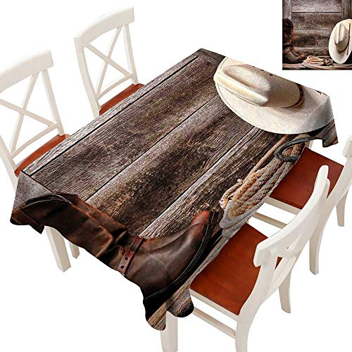 Western Decor Amazon: Amazon.com: Western Decor Tablecloth Heavy Weight American
