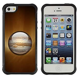 ZAAAZ Rugged Armor Slim Protection Case Cover Durable Shell - Saturn Planet - Apple Iphone 5 / 5S