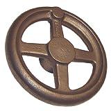 "Morton HW-6 Cast Iron Straight Hand Wheel, 6"" Diameter"