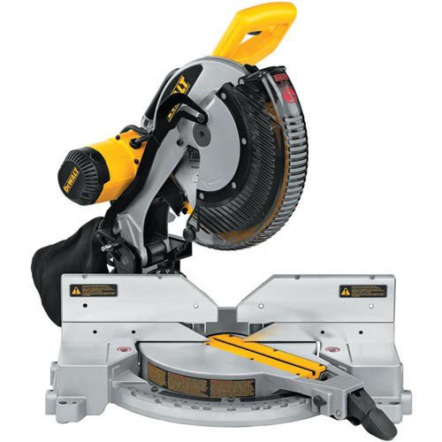 DEWALT DW716R 15 Amp Double-Bevel Compound Miter Saw (Certified (Factory Reconditioned Saws)