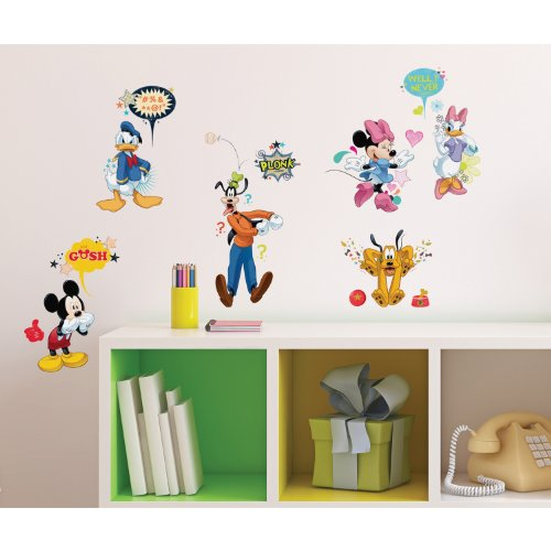 RoomMates RMK2534SCS Wall Decal, Multi