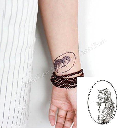 Cuerpo de klebbare temporales tatuaje Tattoo Pegatinas Vintage ...