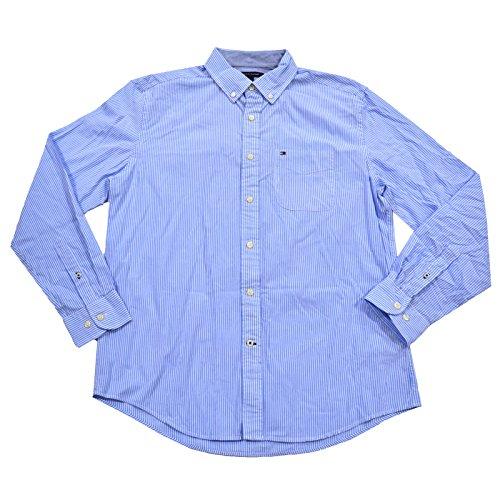 Classic Fit Buttondown Shirt (XL, Collection Blue Stripe) ()