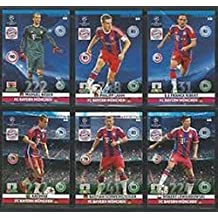 Champions League Adrenalyn XL 2014/2015 Bayern Munich Base Card Team Set 14/15