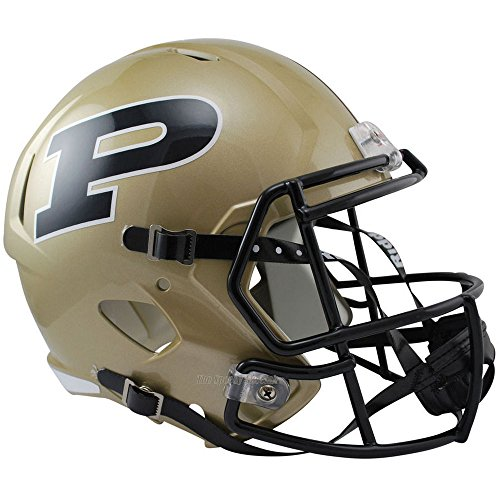 Purdue Boilermakers Officially Licensed NCAA Speed Full Size Replica Football Helmet by Riddell