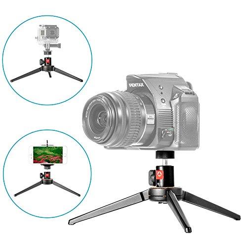 NEEWER プロ 4 inch/10 2 cm アルミ合金製 KT-100 ミニカメラ三脚スタンドの商品画像