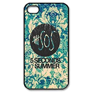 Rock band poster 5SOS Hard Plastic phone Case Cover For Iphone 4 4S case cover XFZ406453
