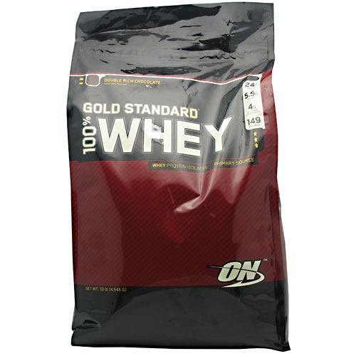 ON Gold Standard 100% Whey - Double Rich Chocolate - 10 lbs