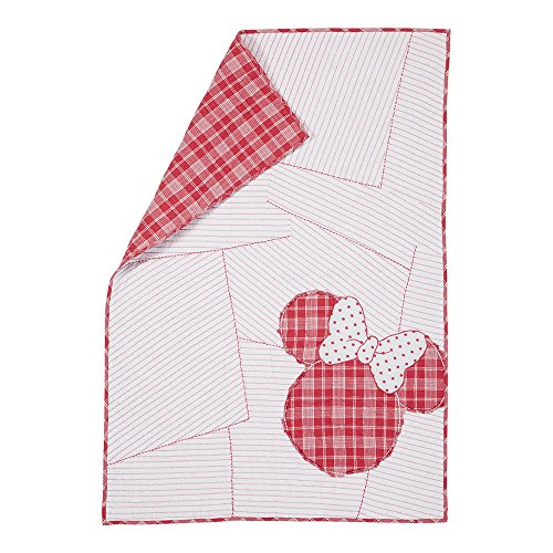 Ethan Allen   Disney Ticking Stripe Minnie Mouse Toddler Qui