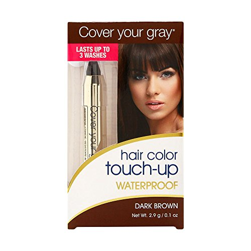 Cover Your Gray Waterproof Chubby Pencil, Dark Brown, 0.1 Ounce