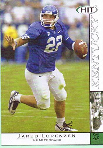 - Jared Lorenzen 2004 Sage Hit #22 - New York Giants, Kentucky Wildcats, Rookie