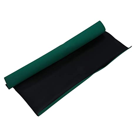 Amazon.com: Alfombrilla de escritorio verde antiestática con ...