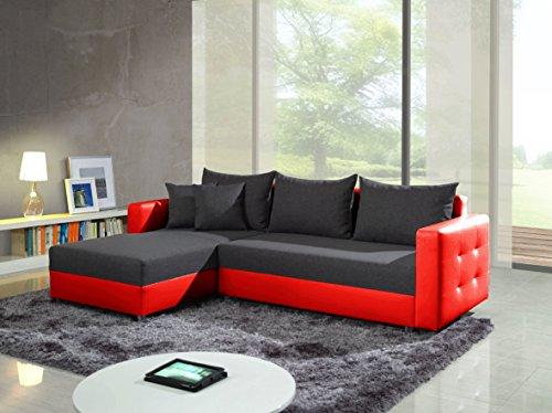 Divano Rosso Cuscini : Ariel grigio scuro rosso esclusivo moderno divano divano divano