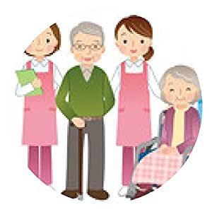 alfombrilla de ratón Cuidador de mayores y ancianos - ronda - 20cm