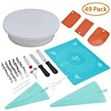 RONRI Cake Decorating Supplies Set 49pc For DIY Decorating
