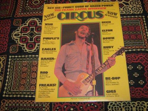 Circus Magazine (Peter Townshend , Rev Ike , Funky Guru , Green Power , Who , Beck , Elton , Bowie , Ruby, November 25 , 1975)