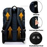 Vaschy Men Backpack Water-Resistant Hiking Daypack