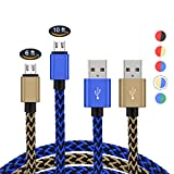 2 Pack PS4 Controller Charging Cable,Zwirelz Charging Cable for Xbox One Controller Nylon Braided Sync Cord Charger for Playstation 4 Dualshock 4 PS4 Slim/Pro, Android (Blue+Yellow) Review