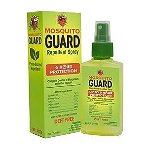 Mosquito Guard Repellente Spray (4 FL Oz) Realizzata con vegetali Naturali basato su ingredienti - Citronella, Olio di… 1 spesavip