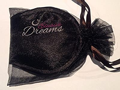 Elusive Dreams ® Comfortable Sleep Mask With Free Earplugs - Ultra Soft And Comfortable. Ideal For Travel, Insomnia, Shift Work and Meditation