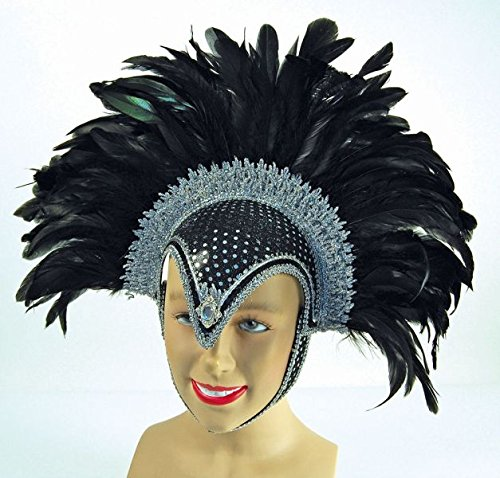 Helmet With Feathers - 1