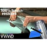"VViViD Clear Bra Paint Protection Bulk Vinyl Wrap Film 12"" x 120"" Including 3M Squeegee and Black Felt Applicator"