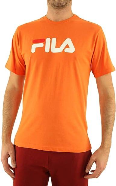 Fila Classic Pure Camiseta Hombre Naranja XS (X-Small ...
