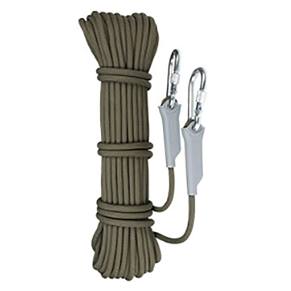 FYrainbow Cuerda de Escalada, Cuerda de Seguridad de Emergencia de Incendio en casa Cuerda de Escape para el Campamento de Rescate Cueva diámetro 12mm 10, 20, 30, 40, 50 m