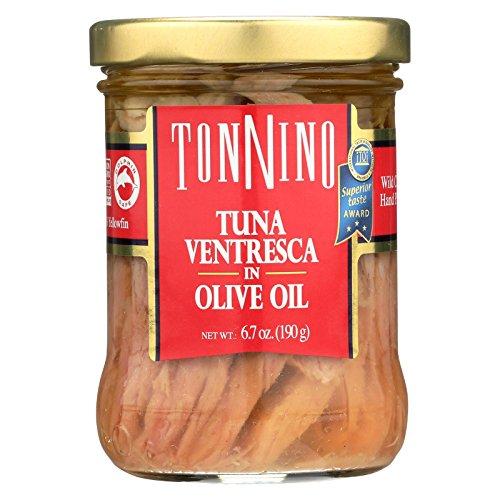 Ortiz Ventresca Tuna - Tonnino Tuna Ventresca,In Olive Oi 6.7 Oz (Pack Of 6)