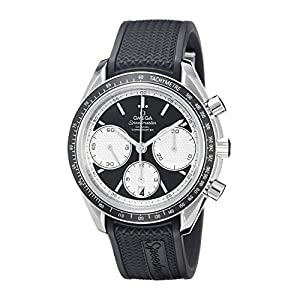 Omega Men's 32632405001002 Speed Master Analog Display Automatic Self Wind Silver Watch
