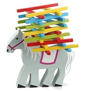 Calli Holz Bildungs-Pferd Schwebebalken-Spiel