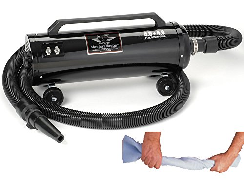 New Metro Vac Air Force Master Blaster Pet - Dog Grooming Dryer - Model MB-3 - Includes Metro Super Absorbent Pet Towel - Made In The USA