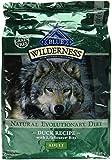 Blue Buffalo Wilderness Grain Free Dry Dog Food, Duck Recipe, 11-Pound Bag