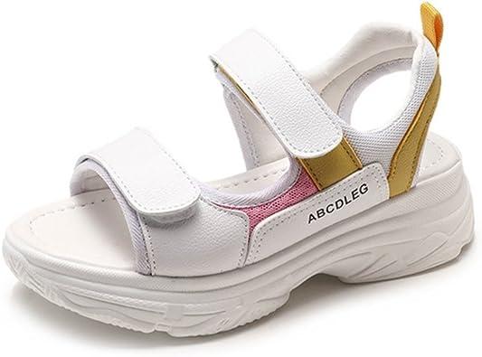 Femme Sandale Chaussure de Sport à Semelle Épaisse Chaussure