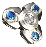 Valtcan Titanium Fidget Spinner Toy Hand Sensory Metal Series Anxiety Phone Fear Stress Reducer Figit Toy for Kid Adult Finger Spinner Hands for Focus, Anxiety,Autism,Boredom