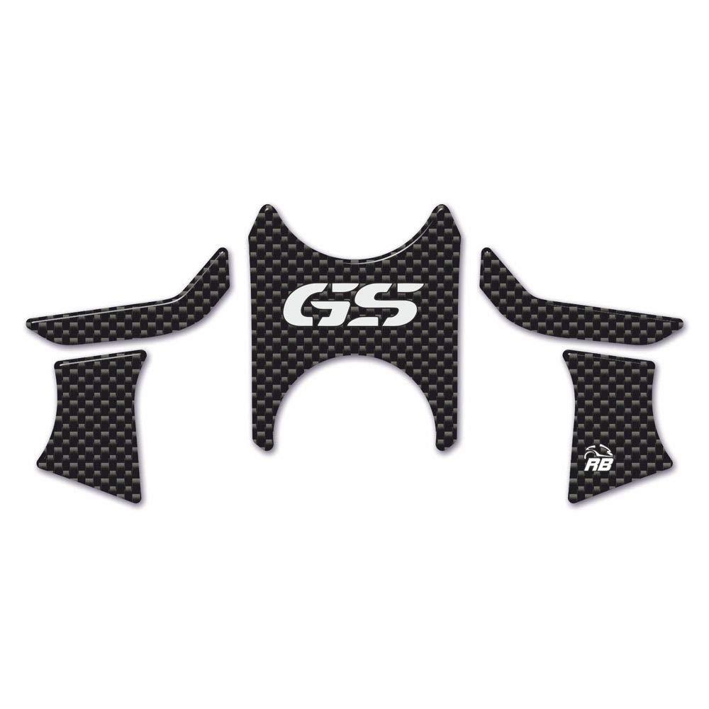 Protection 3D Plaque Fourche Compatible avec Moto BMW R 1200 GS 2008-2012